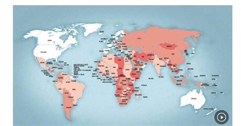 comment la carte touristique du monde