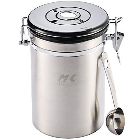 top 19 best stainless steel canisters 2018