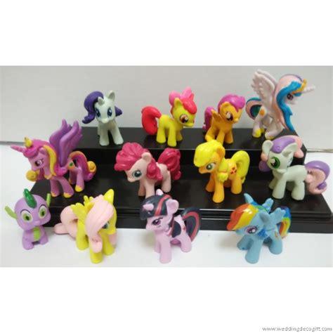my pony cake topper figurine 12 pcs