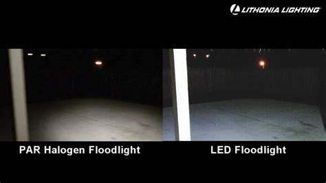 landscape flood light vs spotlight led security floodlights lithonia lighting vs standard