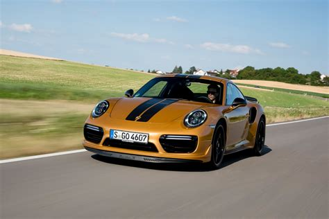 porsche exclusive series 911 turbo s exclusive series golden yellow metallic