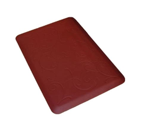 comfort chef kitchen mats 2015 non toxic and superior elasticity red kitchen mat