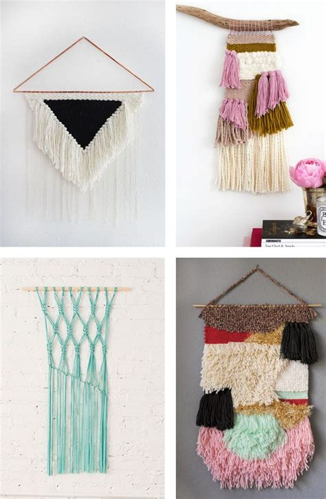 home decor diy trends decor hacks craft trend diy woven wall hangings