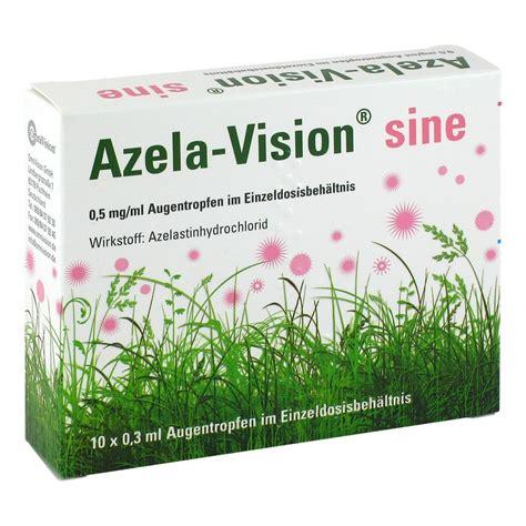 Azela Top 2 azela vision sine 0 5 mg ml augentr i einzeldosis 10x0 3