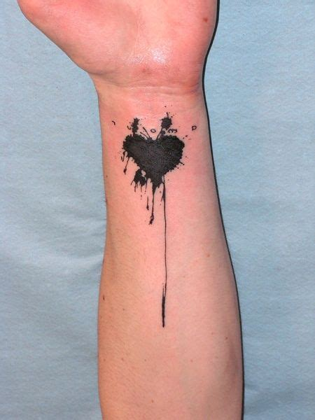 black heart tattoo 78 best tattoos design ideas mens craze