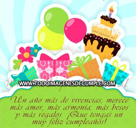 imagenes de cumpleaños y pastel im 225 genes de cumplea 241 os con frases globos regalos y pastel