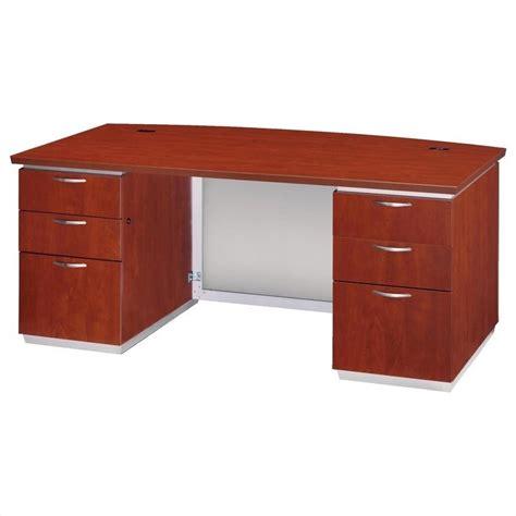 Flat Pack Computer Desk Dmi Pimlico Laminate Executive 72 In Desk Flat Pack 7020 36fp
