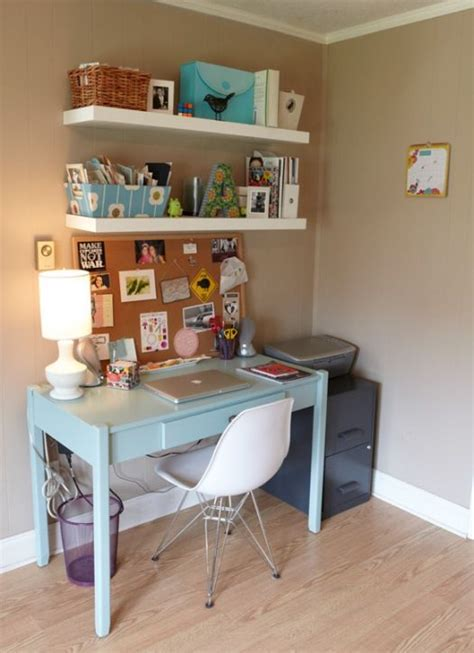 Creative Desk Ideas For Small Spaces Best 25 Small Office Spaces Ideas On Pinterest Office Cabinet Design Study Furniture