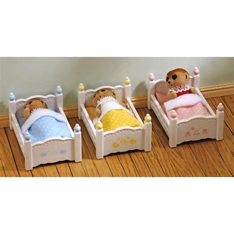 Three Bunk Bed Set Sylvanian Bunk Bed Set Reviews Toylike