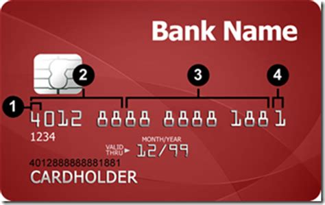 Credit Card Number Format Mastercard Validate Credit Card Number With Mod 10 Algorithm Codeproject
