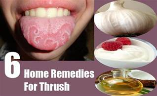 home remedy for thrush cure thrush
