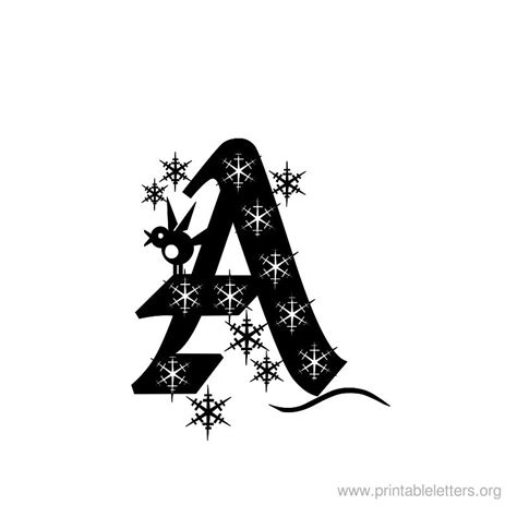 large printable christmas letters printable letters a letter a for kids printable