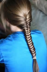 fishtails with braided hair the fishtail braid hairstyles best medium hairstyle