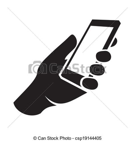 Clip On For Smartphone Hp All mobile phone in icon vector illustration vector