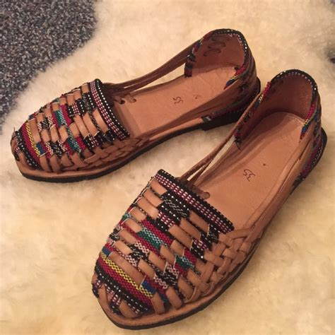 Handmade Mexican Shoes - free handmade huaraches mexican sandals from