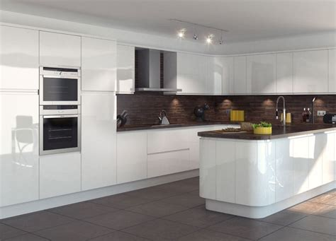 white gloss kitchen cabinets white gloss kitchen