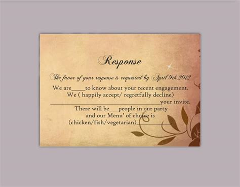 Rustic Rsvp Card Template Free by Search Results For Leaf Template For Word Calendar 2015