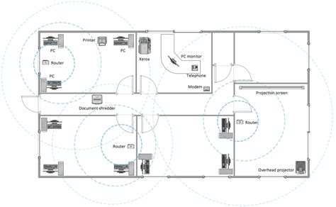 layout of building plan conceptdraw sles building plans office layout