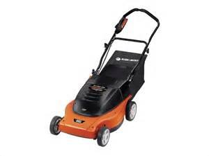 black decker mower black decker 19 quot electric lawnhog mulching mower with