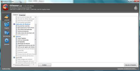 ccleaner que casillas marcar limpia tu computadora con ccleaner 3 19 taringa