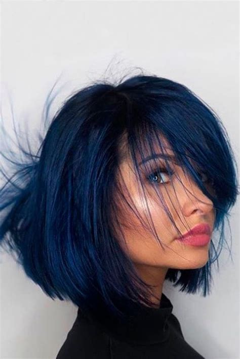 midnight blue hair color best 25 midnight blue hair dye ideas on