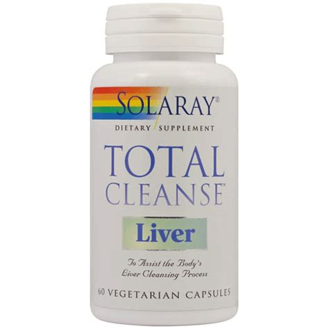 Total Detox And Liver Clease by Total Cleanse Liver 60cps Solaray Secom Secom