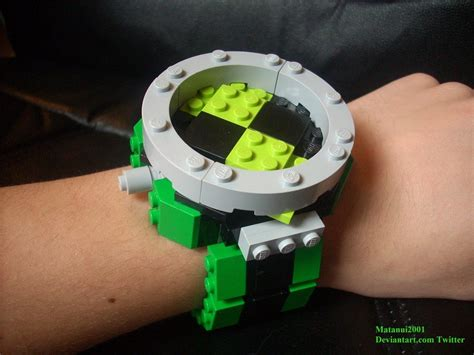 How To Make A Paper Ben 10 Ultimatrix - the ultimate lego omnitrix by matanui2001 on deviantart