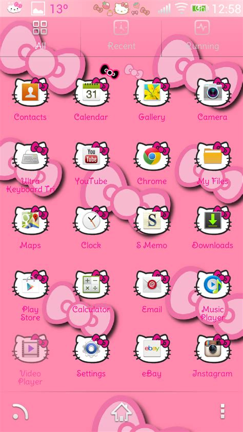 zero hello kitty themes pretty droid themes hello kitty theme v1 for go launcher