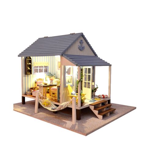 Handmade Wooden Doll Houses - new 3d puzzles doll house lover house furniture