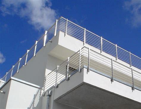 edelstahlgeländer balkon edelstahl