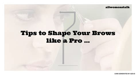 Giorgios Maharajah Magic by 7 Tips To Shape Your Brows Like A Pro