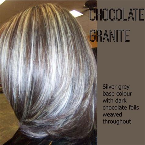 camouflaging gray hair with highlights 25 beste idee 235 n over grijs haar highlights op pinterest