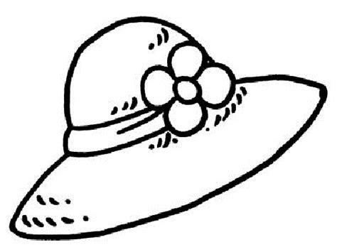 hat coloring page free coloring pages of hat