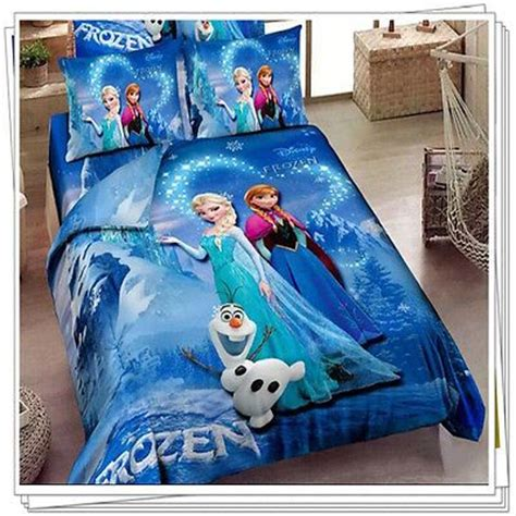 frozen queen comforter set girls kids disney frozen princess bedding duvet comforter