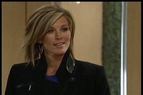 carly of gh hairstyles laura wright general hospital