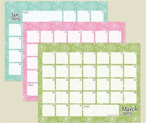 printable calendar 2015 creative calendarios 2015 para imprimir gratis