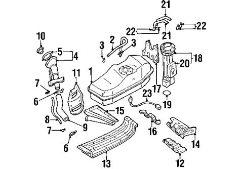 nissan frontier parts diagram parts 174 nissan frontier fuel system components oem parts