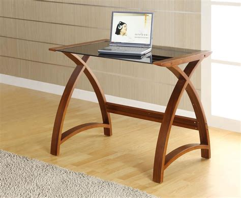 Small Work Desk Table Frances Hunt Penzance Small Walnut And Glass Work Table Supplier Cheap E Deals