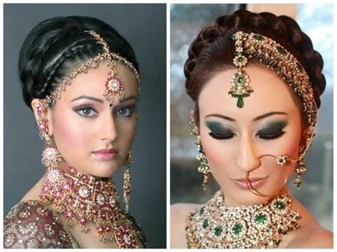 Wedding Hairstyles Braid Front by Top 5 Indian Bridal Hairstyles For Thin Hair