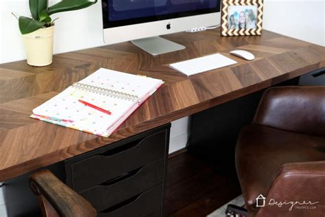 diy desk designs you can customize to suit your style easy and gorgeous ikea desk hack designer trapped