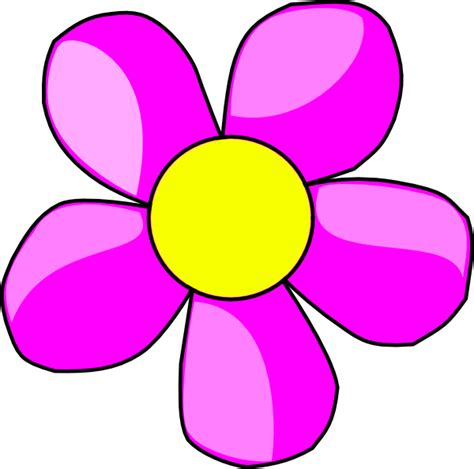 fiori clipart purple flower 2 clip at clker vector clip