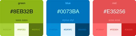color themes sass github bvaughn palettable generates an html color