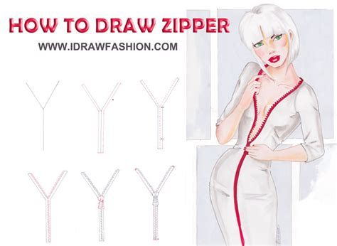 how to make zipper doodle how to draw zipper by idrawfashion on deviantart
