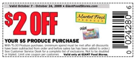 printable grocery coupons in uk giant food stores 2 off 5 produce purchase coupon