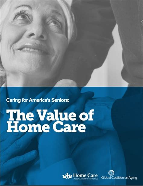 the value of home care family resource home care