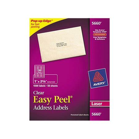 Avery Mailing Address Labels