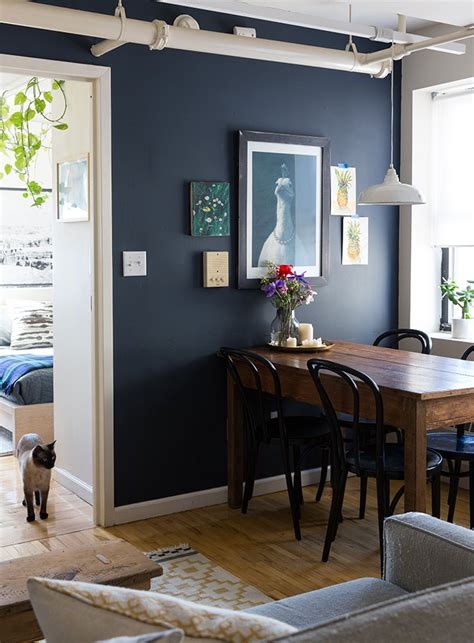 paint it black 15 bold and beautiful walls design sponge