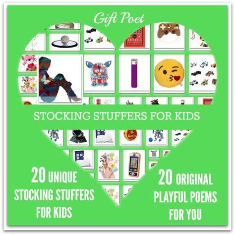 gifts for kids in their 20s 20 stuffers for paired with playful poems gift poet