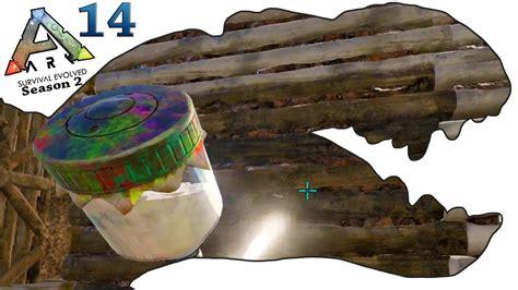 spray painter in ark ark survival evolved gameplay s2 ep14 spray painter