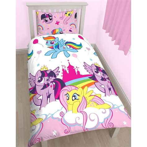 my pony bedding set new my pony equestria reversible single